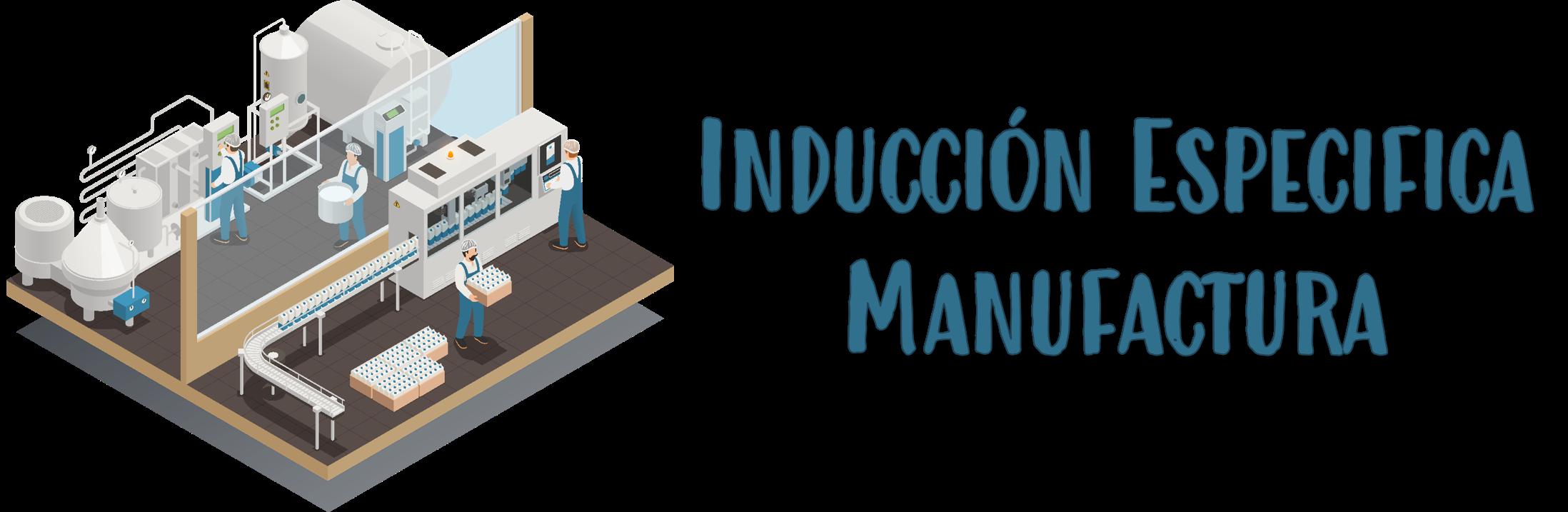Inducción Específica Manufactura